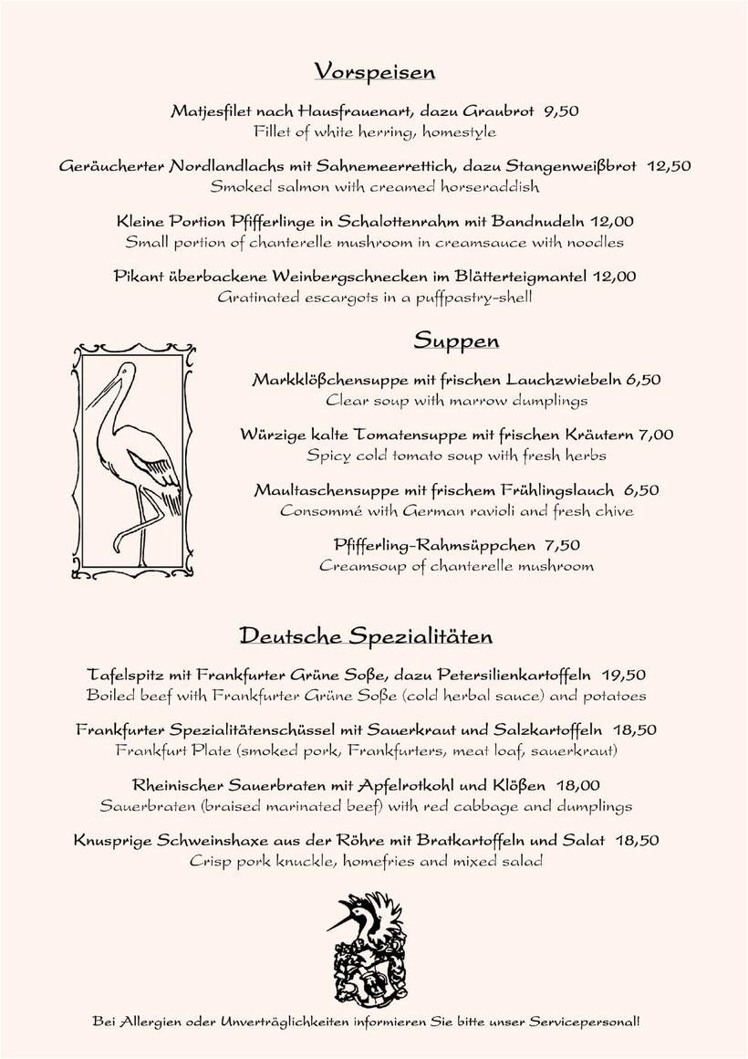 speisekarte frankfurter oktoberfest