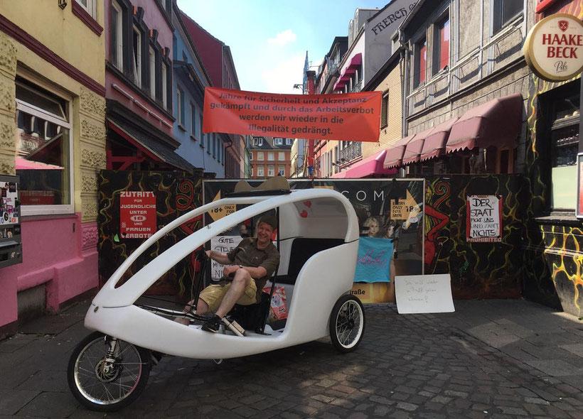 Hamburg by Rickshaw, Reeperbahn, Stadtführung & Stadtrundfahrt