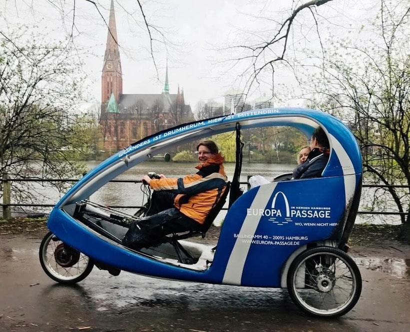 Hamburg by Rickshaw