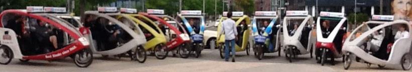 Hamburg by Rickshaw, Werbung