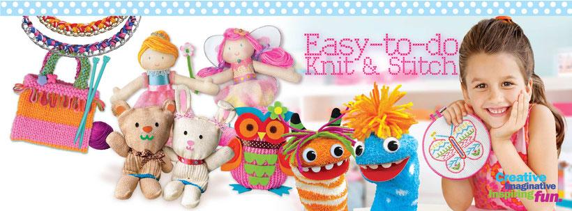 Manualidades  y juguetes creativos de 4M