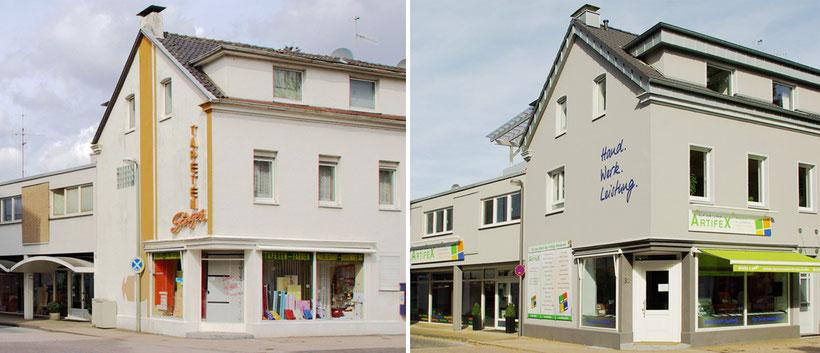Renovierung des Firmensitzes Artifex Langenfeld im Jahr 2010
