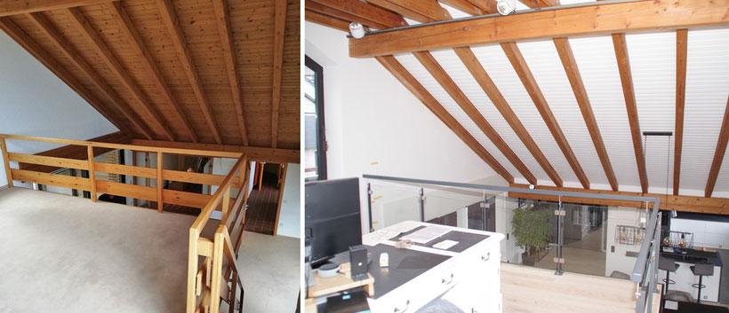 Komplettrenovierung eines Hauses mit Einliegerwohnung im Oberbergischen – Empore