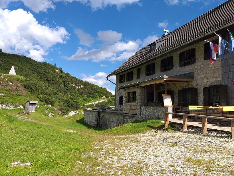 Bogatinom Hütte Slowenien