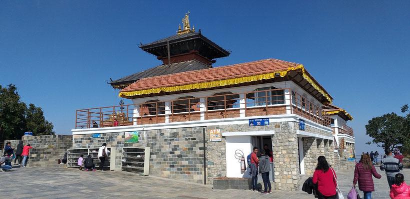 Bhaleshwar Mahadev Tempel Chandragiri Hills Kathmandu