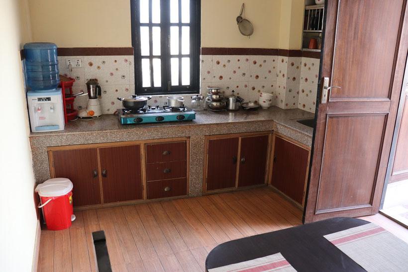 Hotelempfehlung Kathmandu - Dils Homestay Küche
