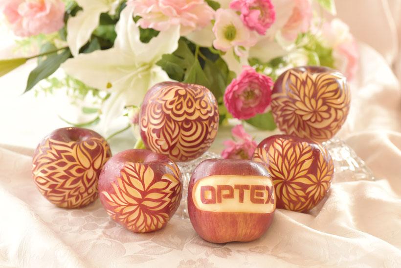 カービング スイカ りんご 教室 フルーツ 彫刻 大阪 オーダー