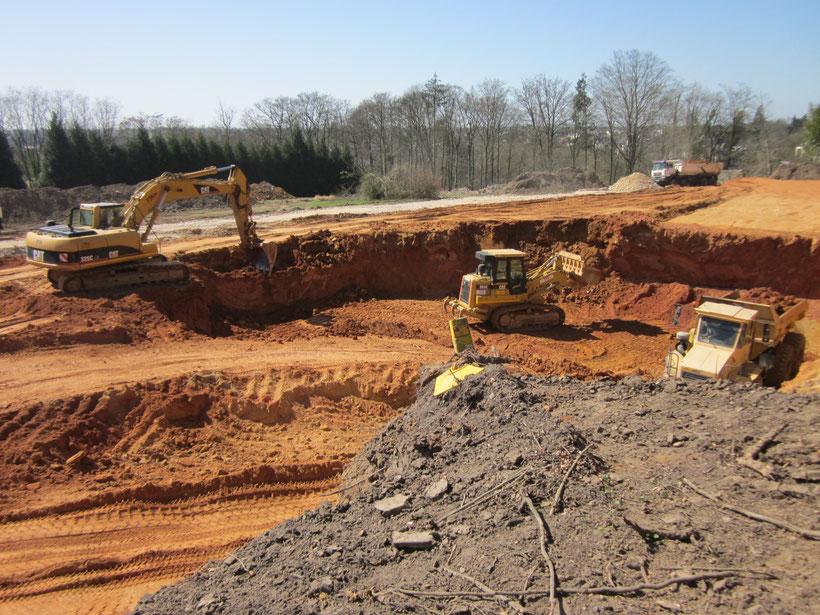 Terrassement fondation édifice - TTA