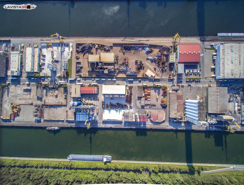 Luftbilder Drohnenbilder Nürnberg Haven