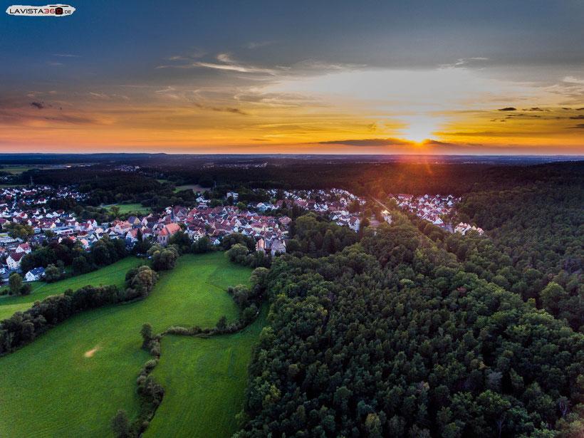 Wendelstein Nürnberg von oben