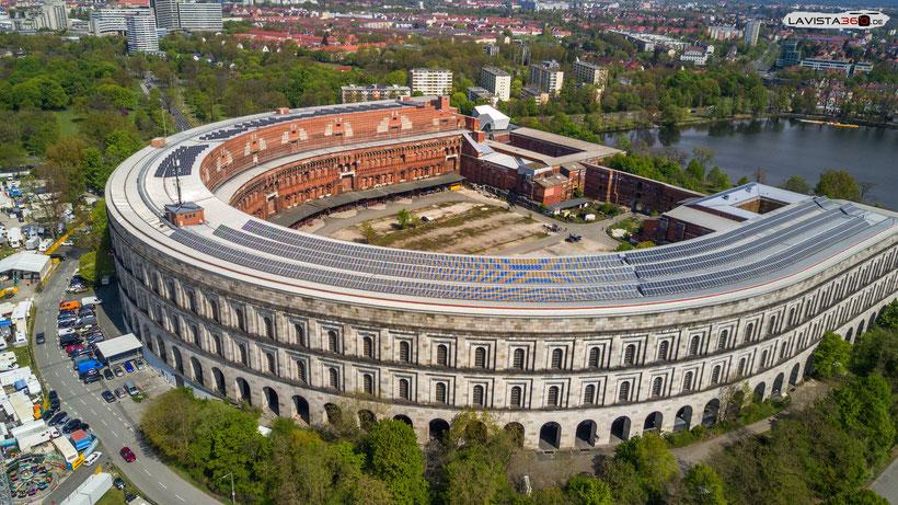 Luftbilder Drohnenbilder Nürnberg Reichsparteigebäude Reichsparteigelände