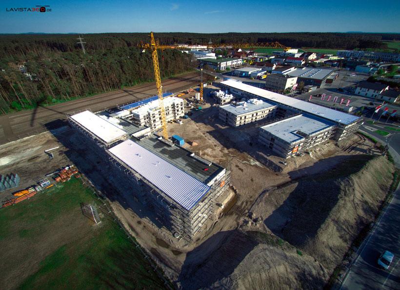 Luftbilder Drohnenbilder Baustelle