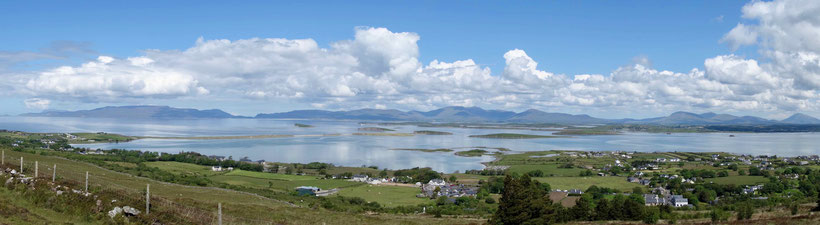 Aussicht vom Craogh Patrick, Irland Reise, Highlights