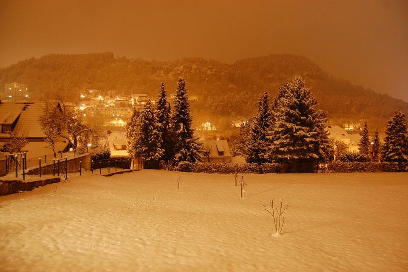 Dezembernacht in Gerolstein 2012 (Vulkaneifelkreis)