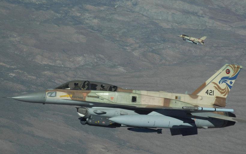 "General Dynamics F-16I ""Soufa"" IAF / © USAF"