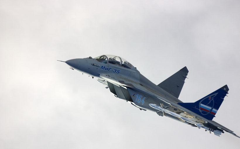 "MiG-29M2 ""Fulcrum - E"", base della versione export MiG-35 ""Fulcrum-F"""