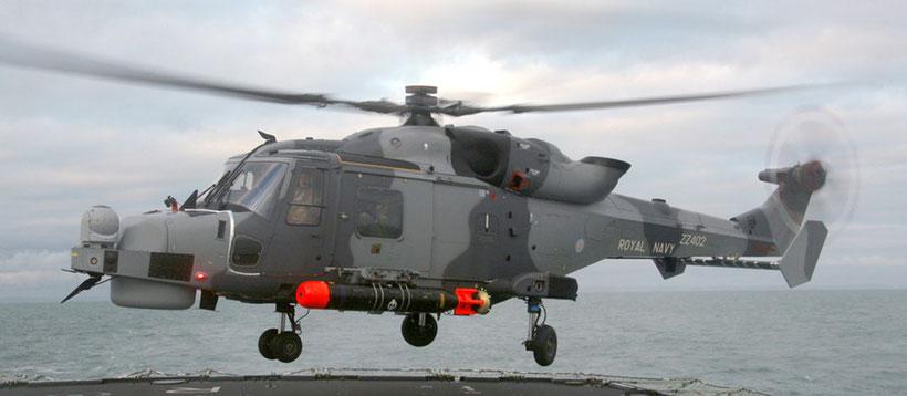 Un AW159 della Royal Navy / © Agusta Westland.