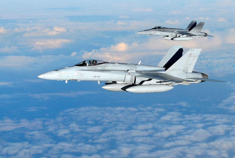 F/A-18C Hornet  / © Ilmavoimat
