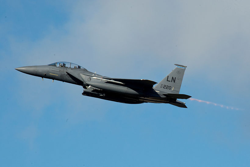 "Boeing F-15E ""Strike Eagle"" 48th Fighter Wing, RAF Lakenheath / © USAF"