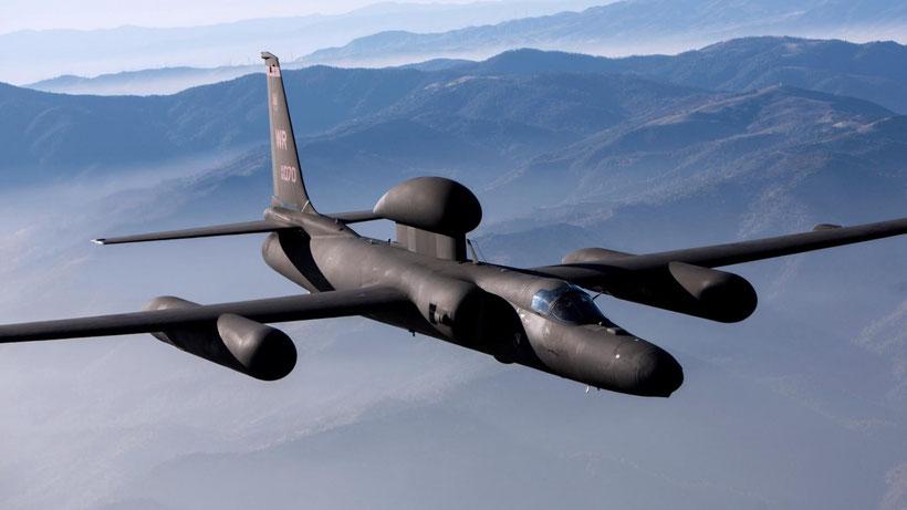 U-2R con antenna satellitare / © Lockheed Martin