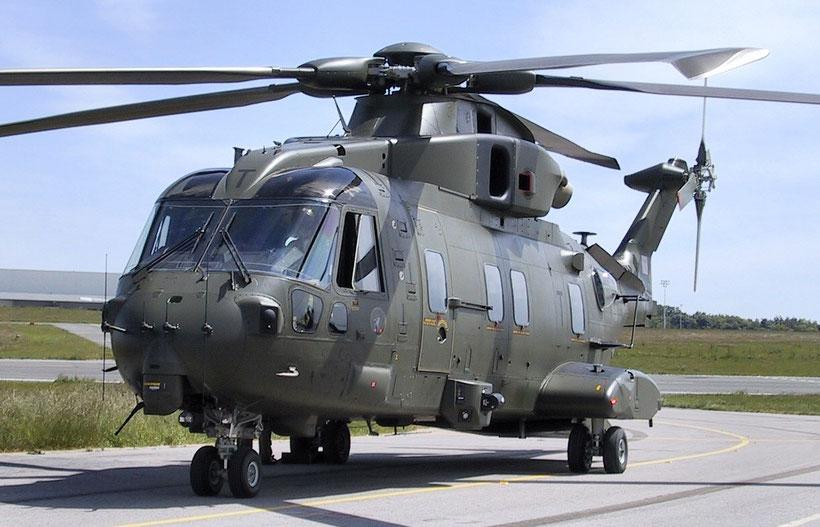 "Agusta Westland AW101 ""Merlin"" HC3 ex Royal Air Force, nella sua nuova arma di appartenenza assumerà la denominazione HC4. / © RAF"
