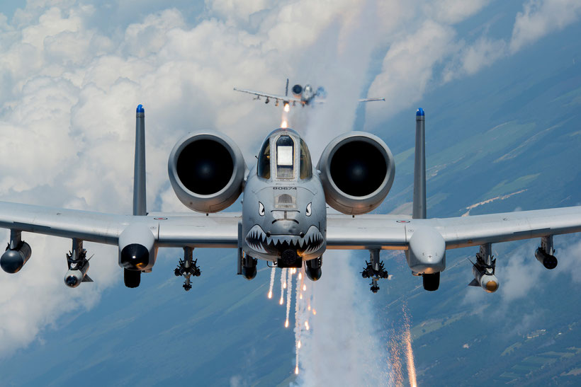 Fairchild-Republic (adesso Northrop Grumman) A-10C Thunderbolt II - 74Th Fighter Squadron, Moody AFB / © USAF