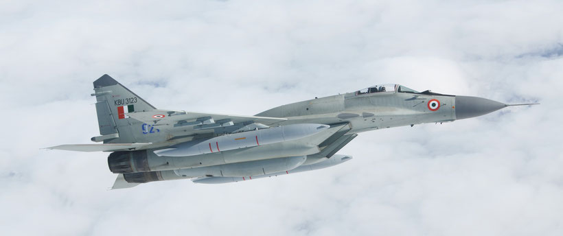 MiG-29UPG Indian Air Force / © RAC MiG