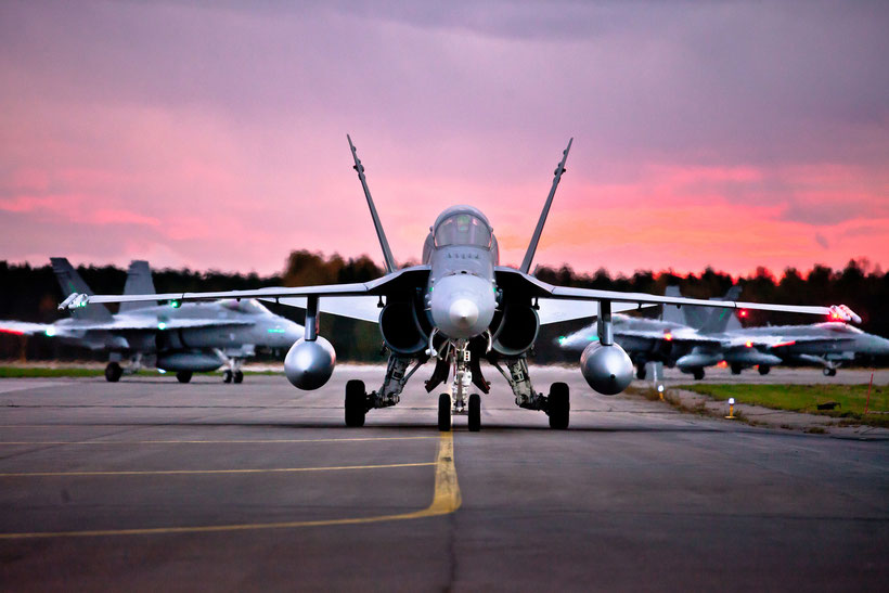 F/A-18C / © Ilmavoimat