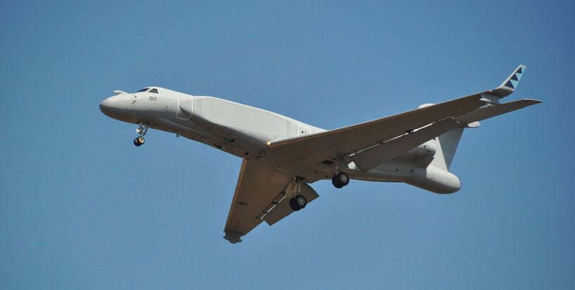 Uno dei quattro IAI / Gulfstream G550 CAEW acquisiti da Singapore, quasi simile all'italiano. / © IAI