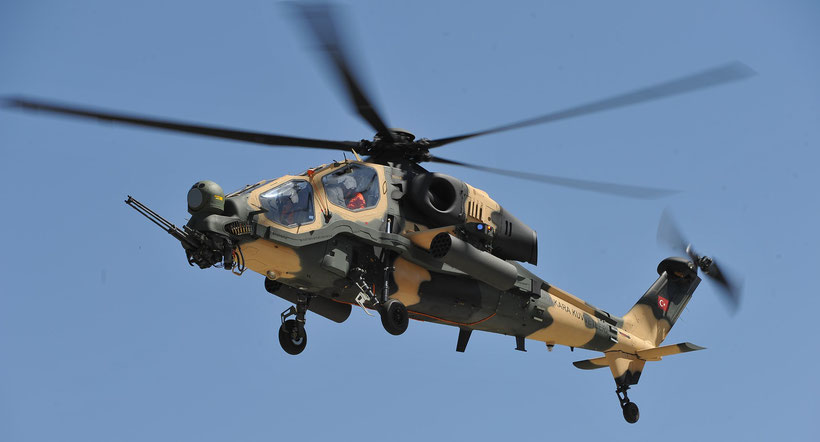 "TAI T129A ""Atak"" / © TAI-Turkish Aerospace Industries Inc."