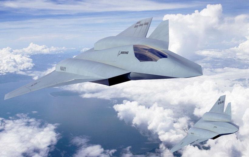 """il """"concept fighter"""" di Boeing / (foto: Boeing)"""