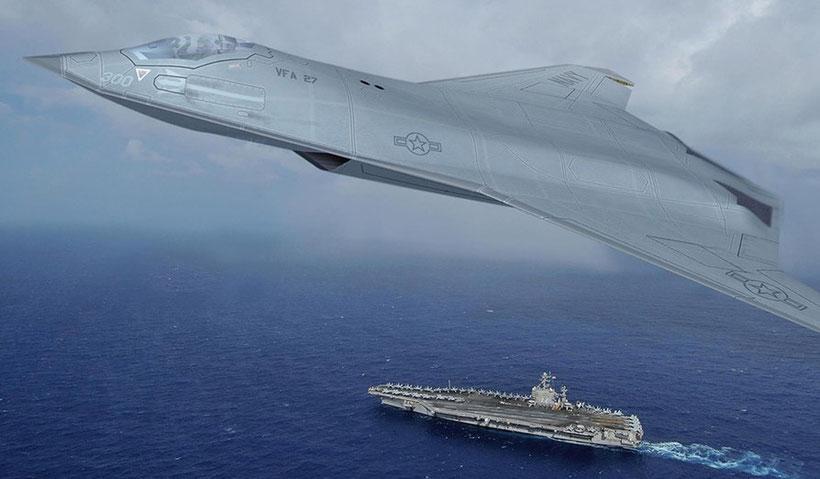 La proposta per un nuovo caccia per la US Navy da parte di Northrop Grumman / (foto: Northrop Gruman)