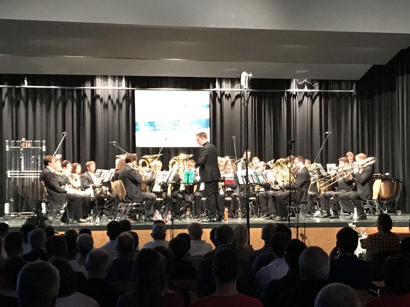 Die Siegerin 2019: Brass Band Emmental unter der Leitung von Jan Müller