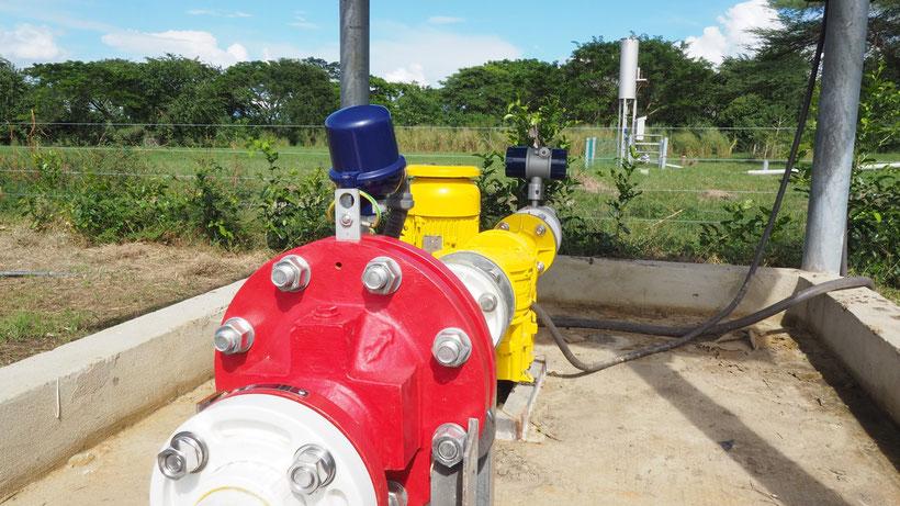 Soplador Atex para biogás - válvula corta llamas - sensor de temperatura - soplador