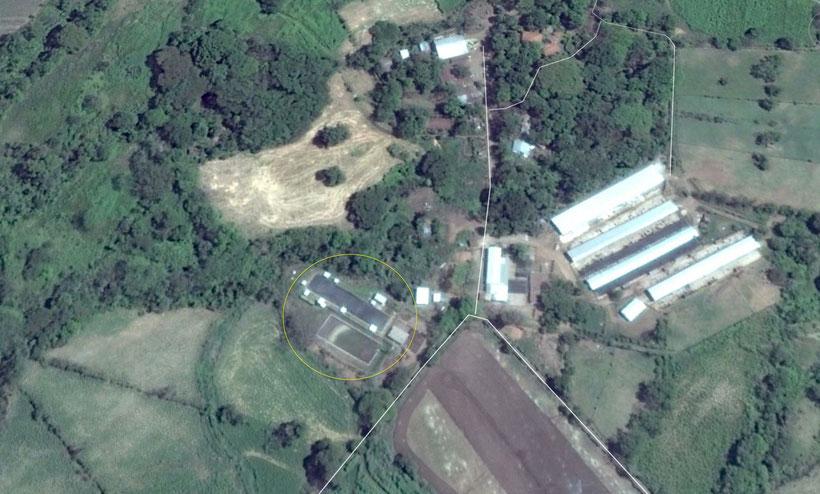 Biodigestor Hacienda San Ramón - estiércol de ganado vacuno
