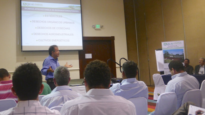 Conferencia sobre biodigestores - reactores UASB - Dipl. Ing. Gabriel Moncayo Romero