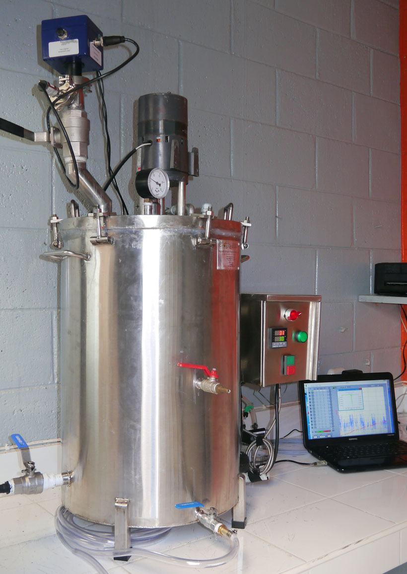 Sensor Ch4 planta piloto