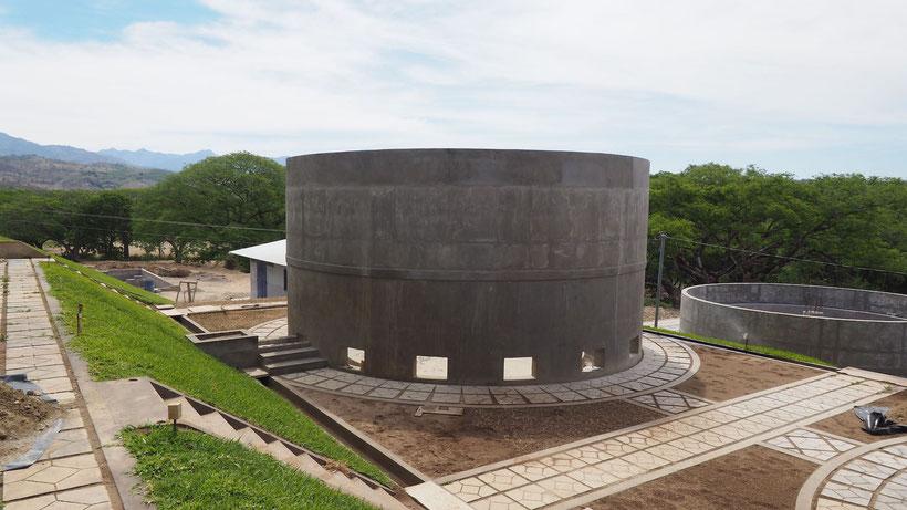 Planta depuradora UASB - El Salvador