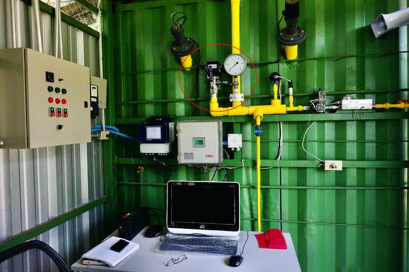 Sensor CH4 - biogas - biodigestor - digester
