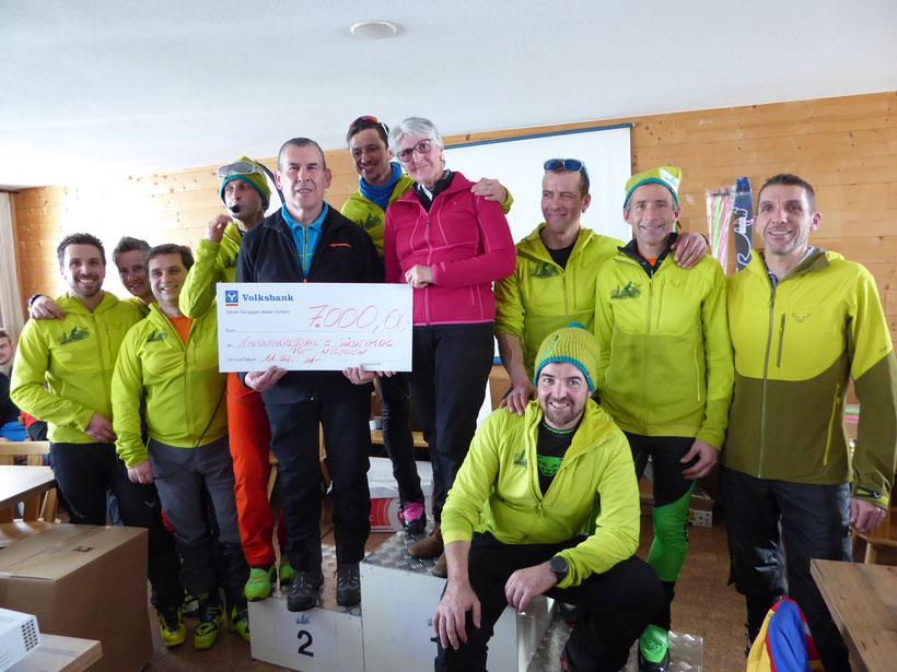 7000 Euro konnten wir an die Kinderkrebshilfe Regenbogen speden, DANK aller Teilnehmer