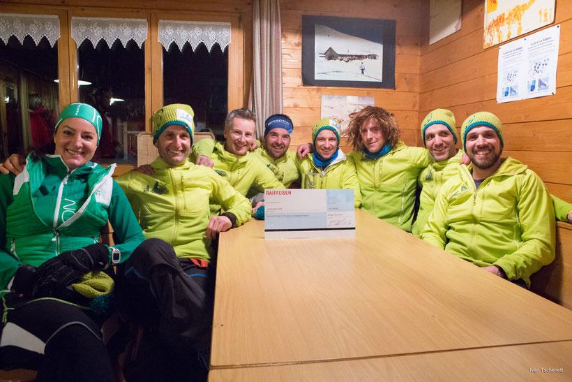 Das OK-Team des DVC und viele weitere Vinschger ließen sich die erste Auflage des Rennen nicht entgehen