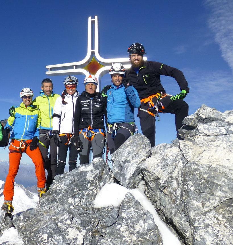 von rechts - Andi, Olli, Benni, Gerlinde, Toni, Franz