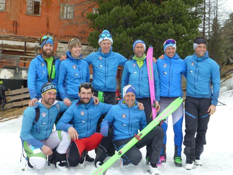 Renngruppe des ASV Martell - Sektion Skitour