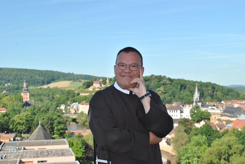Den Blick über Bad Kreuznach wird Bruder Bonifatius sicherlich vermissen. Foto: Franziskanerbrüder vom Hl. Kreuz