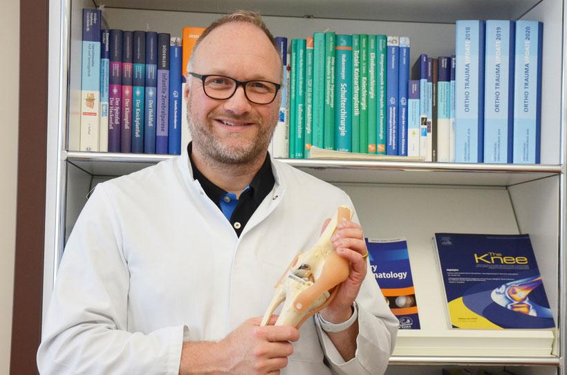 Dr. Jochen Jung, Leiter des EndoProthetik-Zentrums der Maximalversorgung am Diakonie Krankenhaus. Foto: Stiftung kreuznacher diakonie