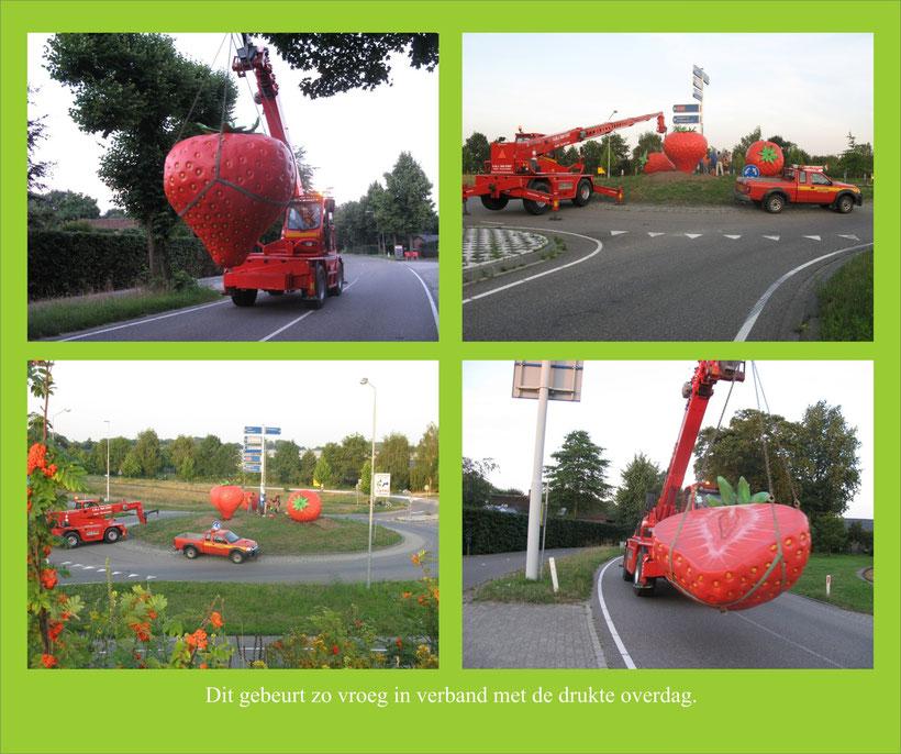 www.artbreak-uden.com www.artbreak-uden.nu www.artbreak-uden.nl Mieke van Rosmalen  Rotondekunst Aardbeien van JAN Looweg Uden