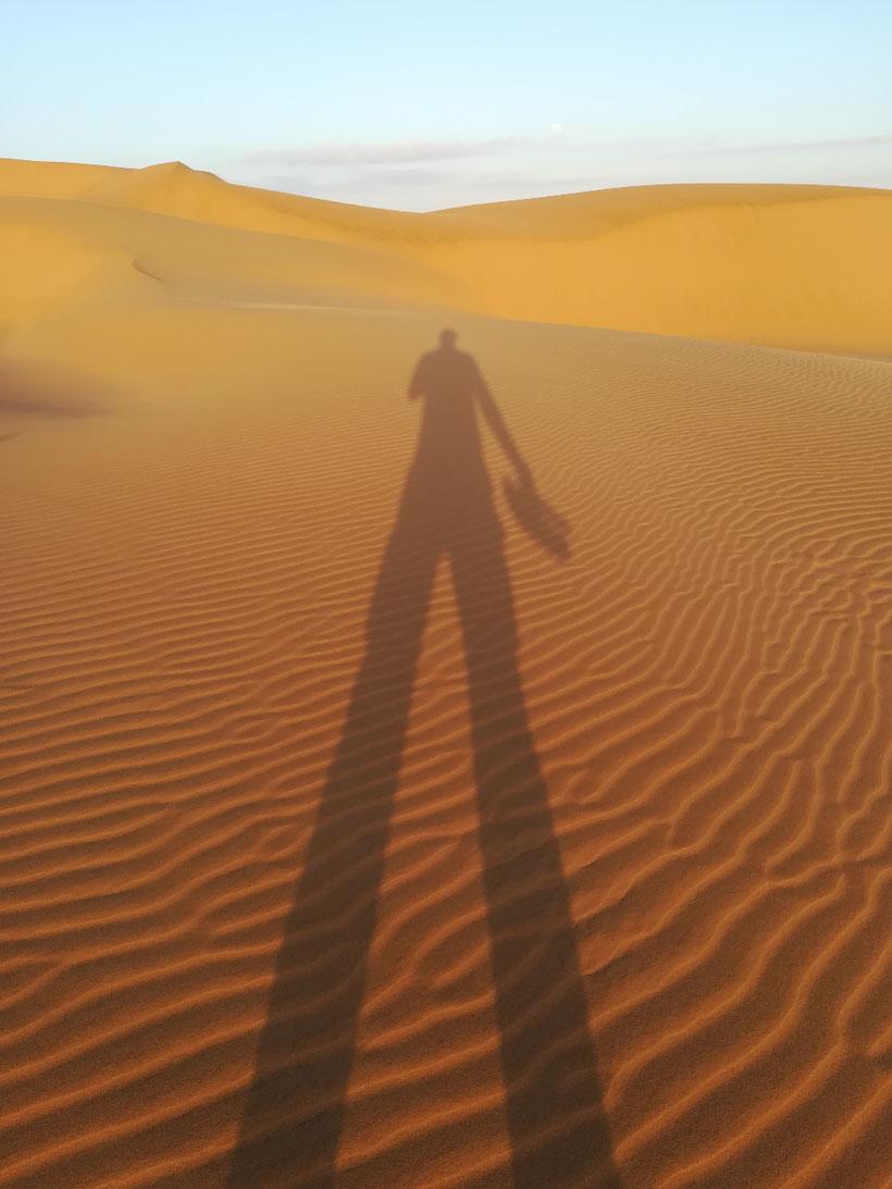 Endlich wieder Sand unter den Füßen