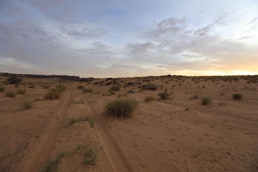 Die Sandpiste der wir jetzt schon 3 Tage lang folgen