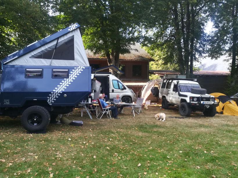 Unser kleines Camp