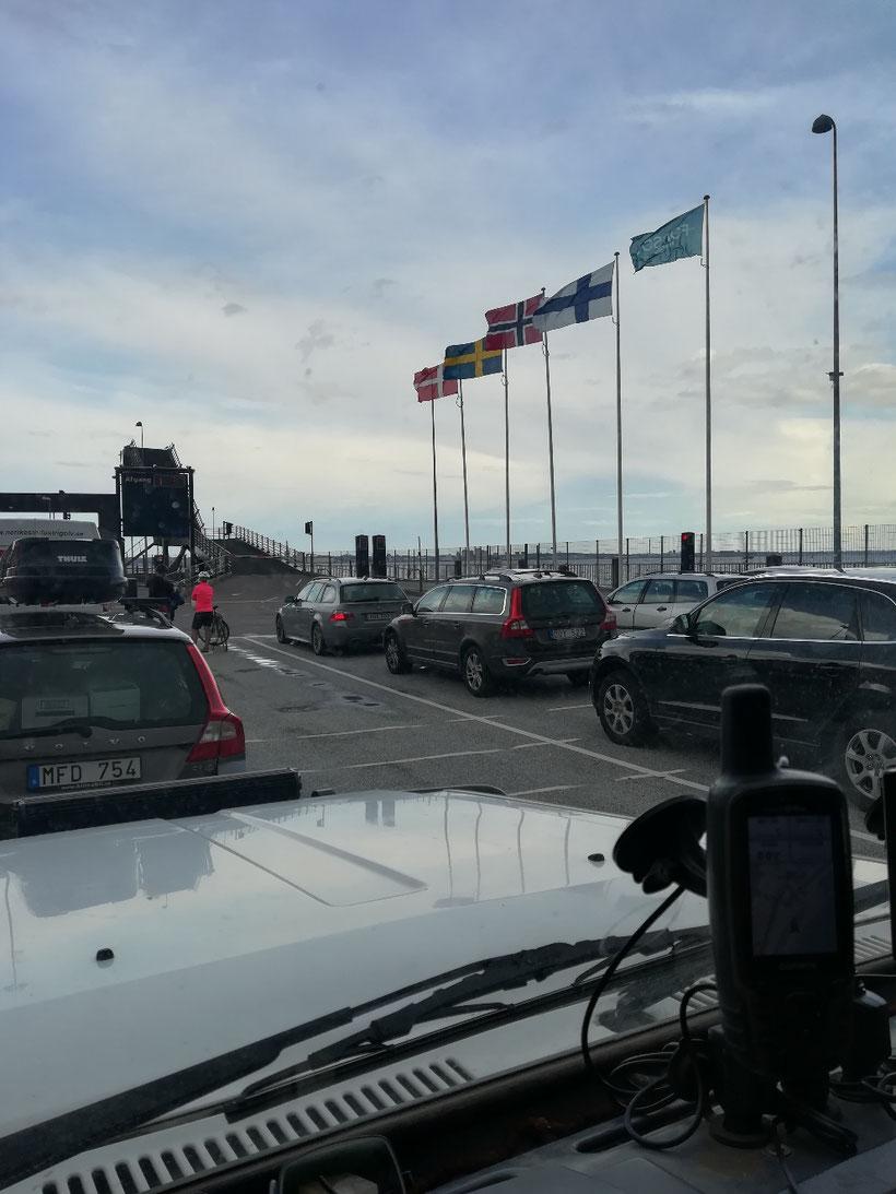 Fährhafen in Puttgarden